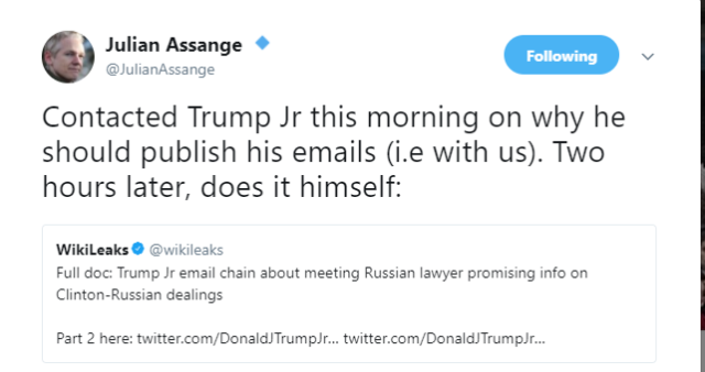 jr and assange